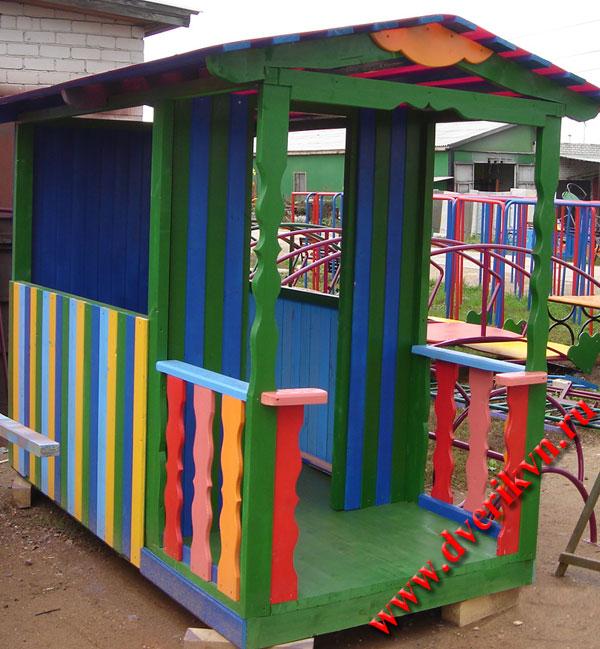 Детский домик своими руками для детского сада 691